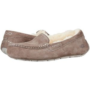 UGG Ansley Slate Women's Moccasin Slippers